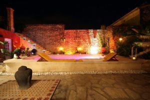 lchambre d'hôtes avec jacuzzi romantique occitanie